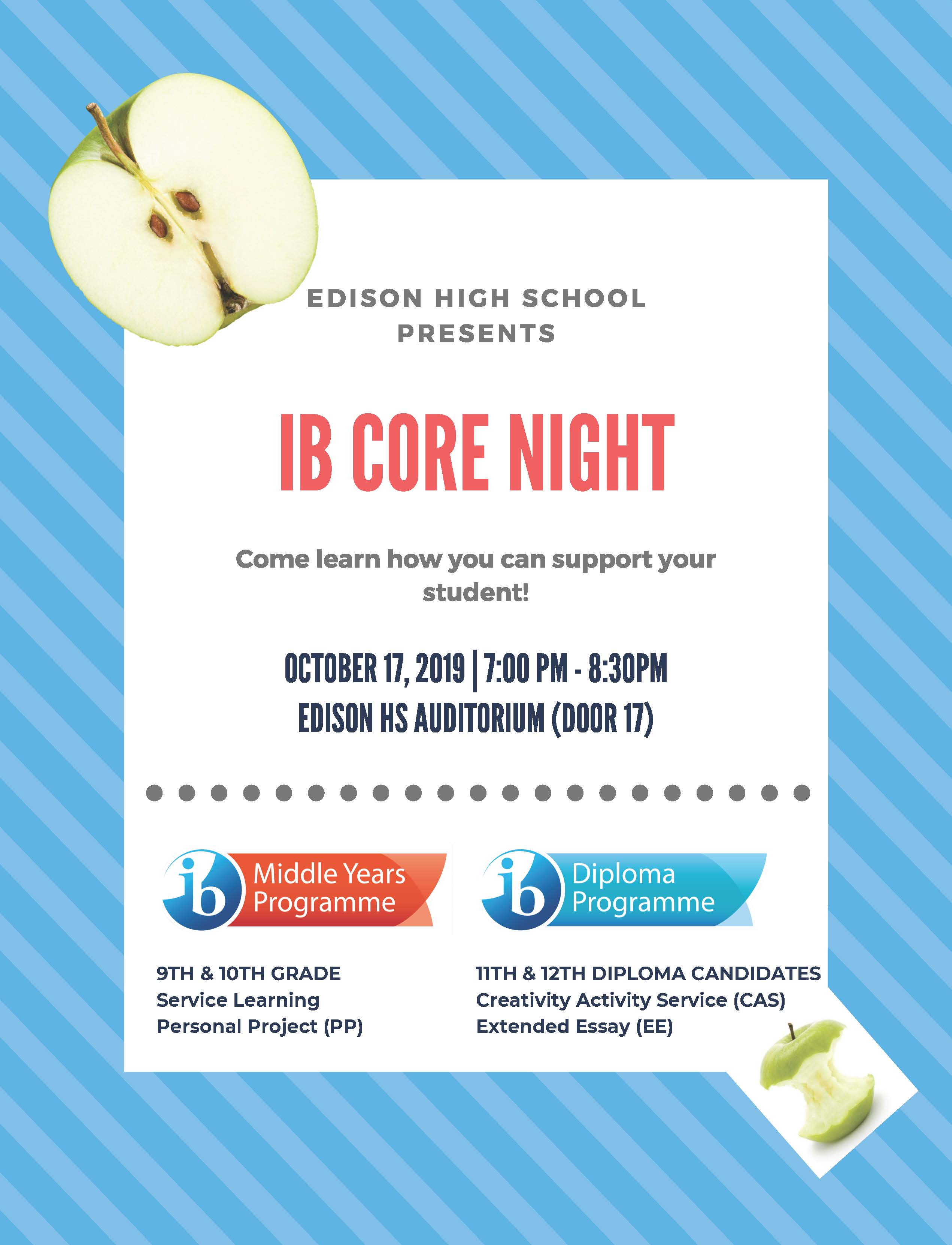 IB Core Night Flyer