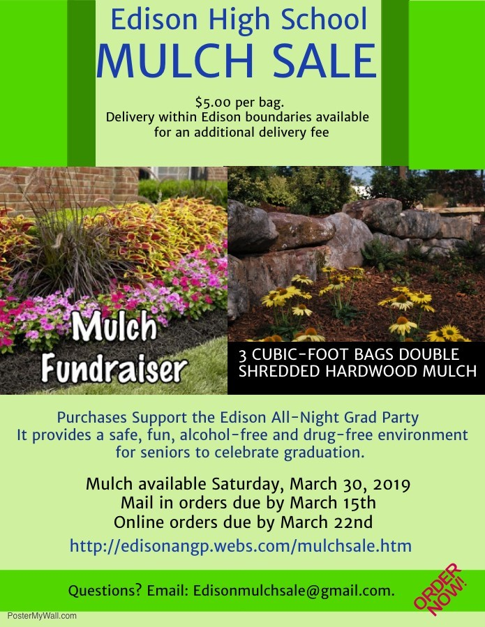 Mulch sale flyer