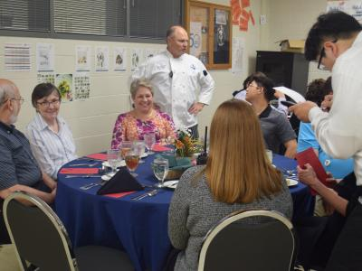 Culinary students receive support from the community through the Culinary Arts program's Bistro.